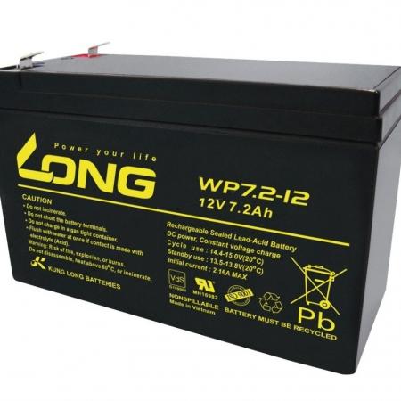 باتری خشک 7.2 امپر