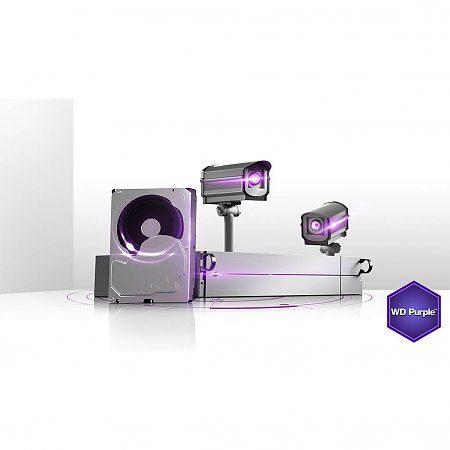 هارد وسترن دیجیتال مدل Purple (بنفش)