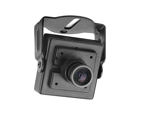 ابعاد بسیار کوچک دوربین مینیاتوری در مقایسه با دوربین مداربسته داهوا مدل DH-HAC-HFW1400BP