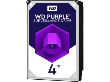 هارد وسترن دیجیتال مدل Purple (بنفش) 4ترابایت