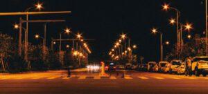 جاده های تاریک در شب