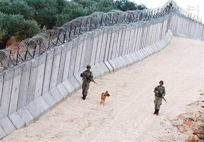 مناطق مرزی تحت حفاظت بین ترکیه و سوریه