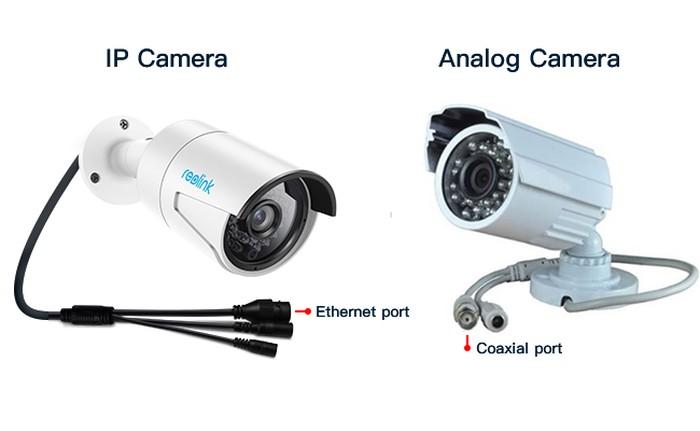 تفاوت دوربین مدار بسته IP و Analog